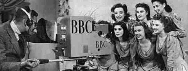 Primeras emisiones de la televisión.