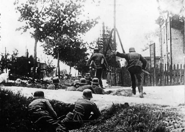 """""""Gran acción"""" en el ghetto de Kovno (Lituania)"""