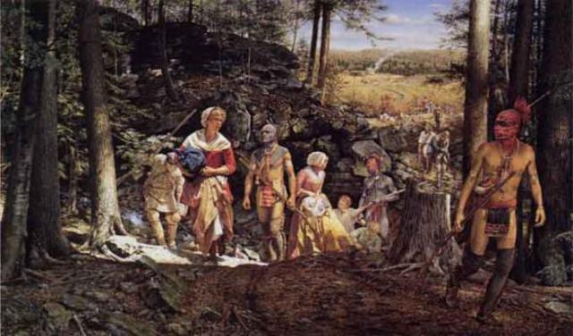 Shawnees Move into American Territory