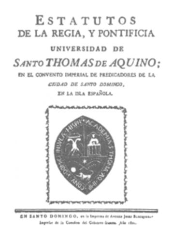 Real y Pontificia Universidad de Santo Tomás de A
