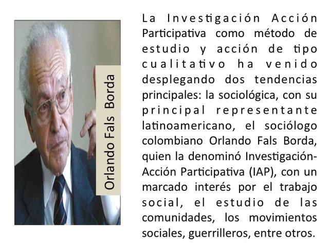 Orlando Fals Borda: Sociólogo y  investigador colombiano