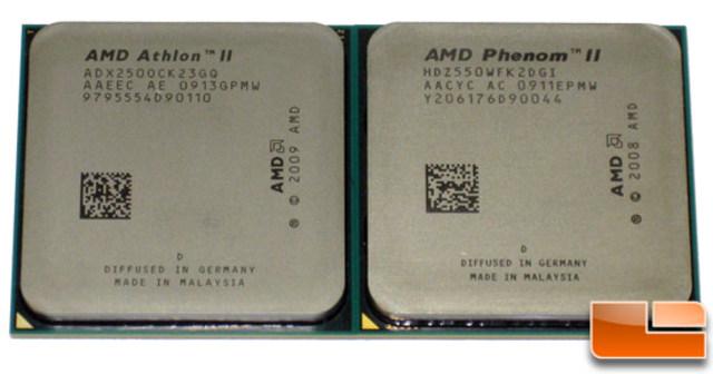 AMD Phenom II y Athlon II