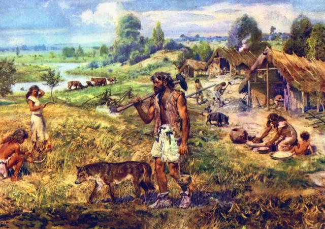 Beginning of the Neolithic Era (Neolithic Revolution)