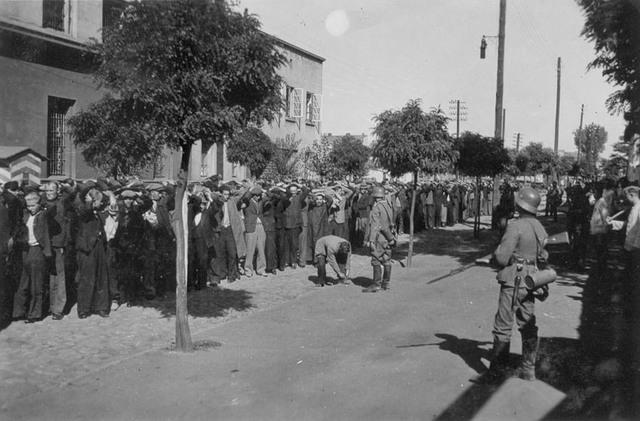 """Resistencia armada de la """"Organización Combatiente Judía"""" en el ghetto de Czentochow (Polonia)"""