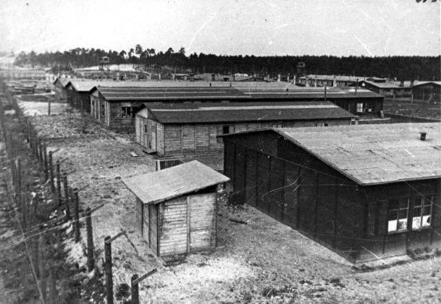Las tropas rusas liberan el campo de concentración de Kaiserwald (Lituania)