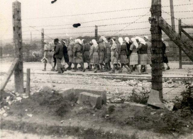 Las tropas rusas liberan el campo de concentración de Plaszow (Polonia)