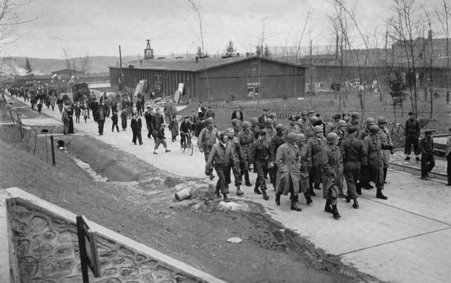Se evacua el subcampo de concentración de Dora Mittelbau (Alemania)