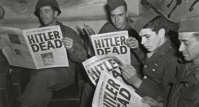 Suicidio de Adolf Hitler.