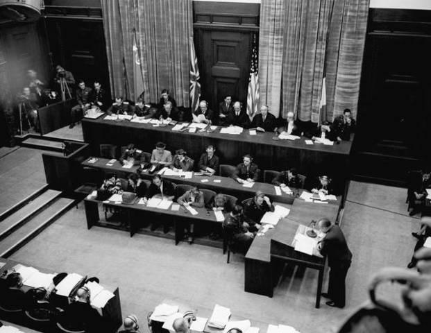 Conclusión de la vista de los Juicios de Nuremberg.