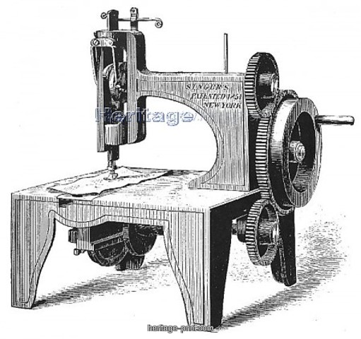 Máquina de coser (Primera)