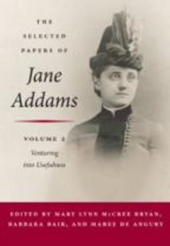 Jane Addams participo en la segunda Conferencia  Internacional de Servicio  Social.