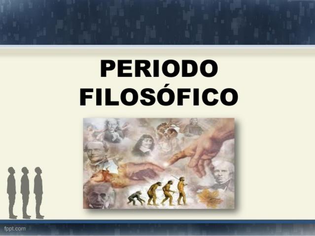 Periodo Filosófico. 1936-1952