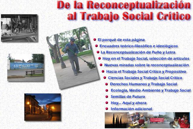 La re conceptualización 1970-1990