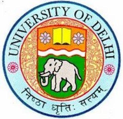 Universidad de Delhi.