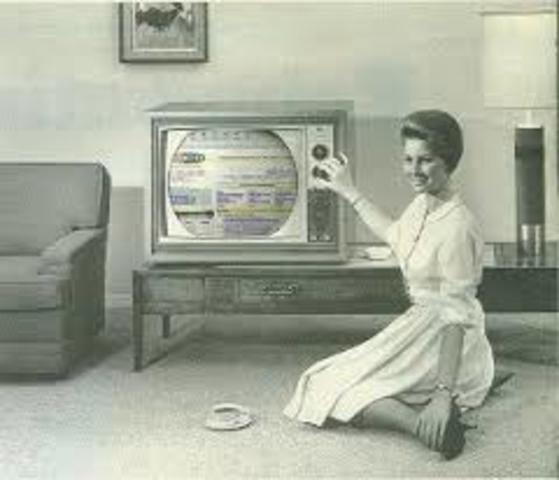 Primera televisión a color en Estados Unidos