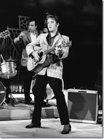 Primera aparición de Elvis Presley
