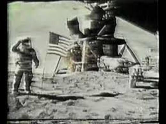 Transmisión de la llegada del hombre a la luna
