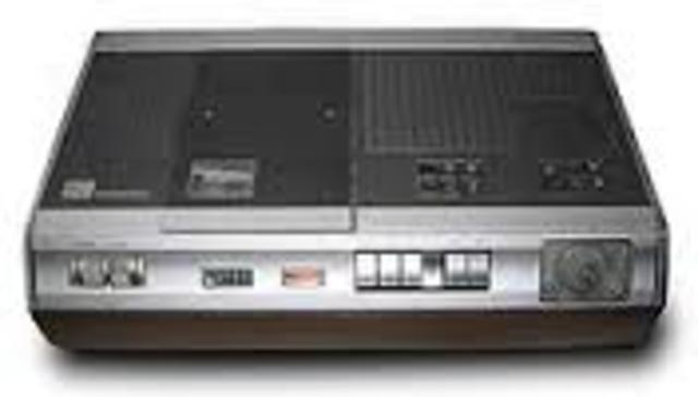 Primera videograbadora casera
