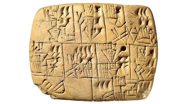 Development of Cuneiform Writing