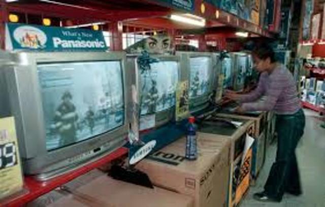 Televisiones en el mundo