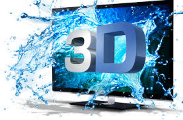Televisión de tercera dimensión (3D)