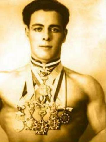 El austriaco Robert Fein, de ascendencia judía, logró la medalla de oro en levantamiento de peso (categoría peso ligero) durante las Olimpiadas de Munich.