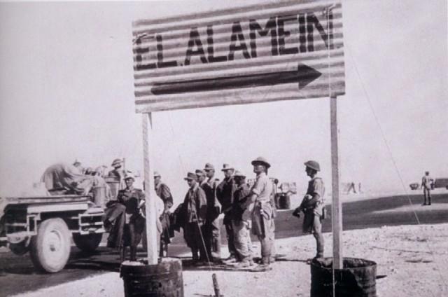 Los ejércitos de Alemania e Italia llegan a El Alamein. Peligro de ataque a la zona de Suez.