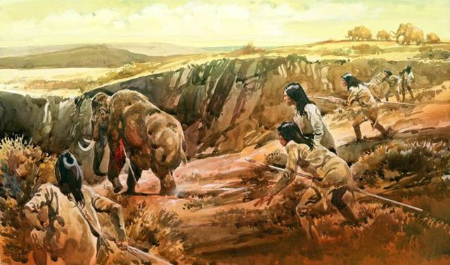 Hunting & Gathering 10,000 BC ~ 8000 BC