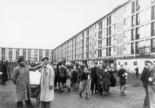 Las tropas aliadas liberan el campo de detención de Drancy (Francia)