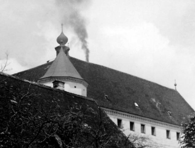Última ejecución en la cámara de gas del castillo de Hartheim (Austria)