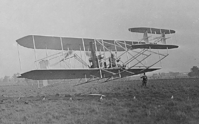 The First Powered Manned Plane Flight