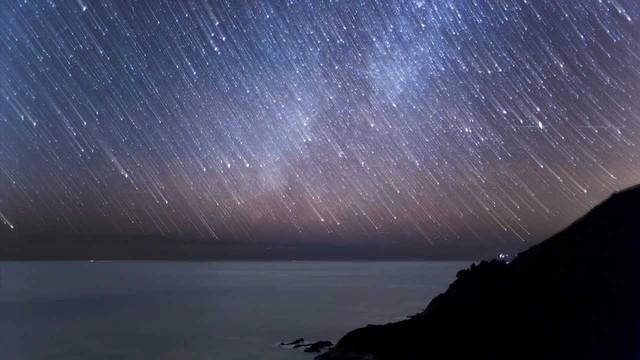 Geminids Meteor Shower.