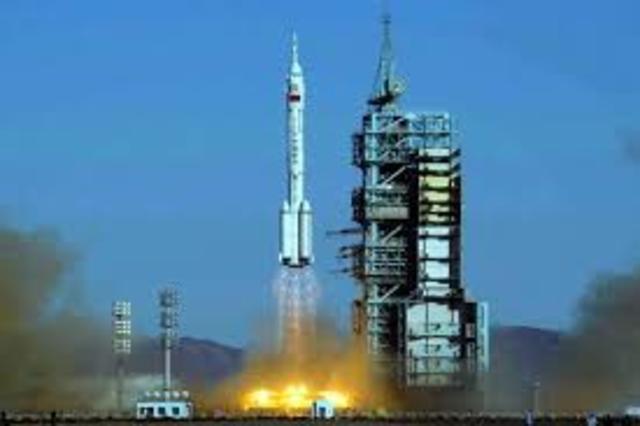 The Shenzhou 5 spacecraft