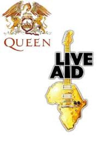 Live Aids por Africa