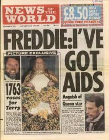 Freddy hace publica su enfermedad