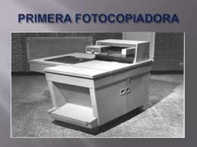 Fotocopiadora (Primera comercial)