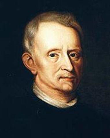 Robert Hooke veu i anomena les cèl·lules