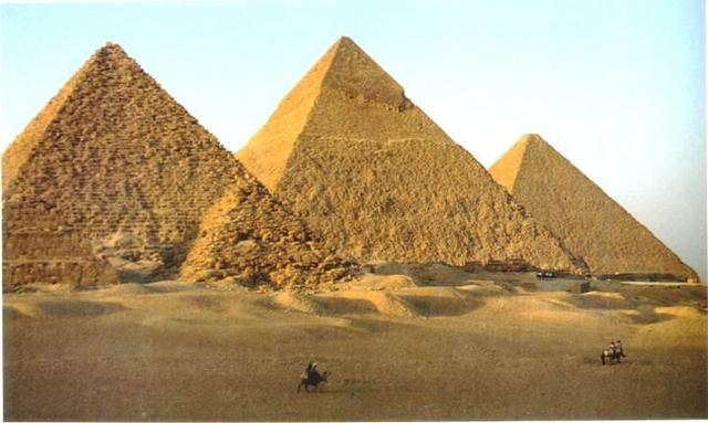 Beginning of the Old Kingdom of Egypt and the Construction of Pyramids