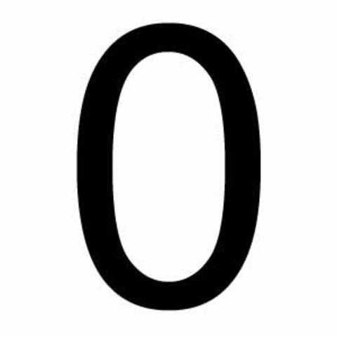 EL 0 cero