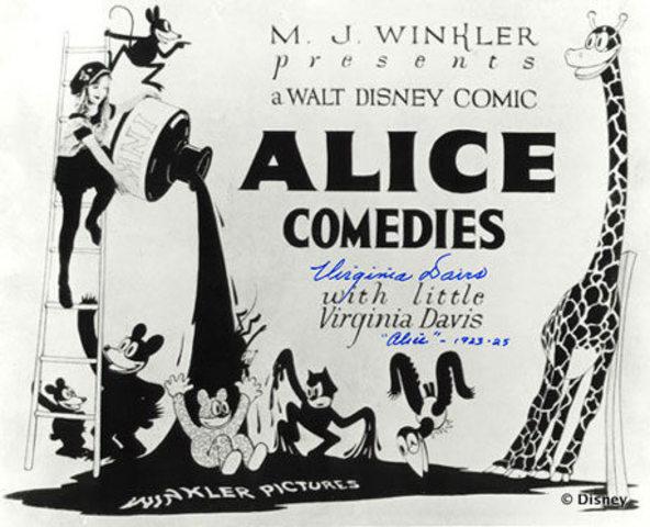 Walt creates Disney Brothers Studios