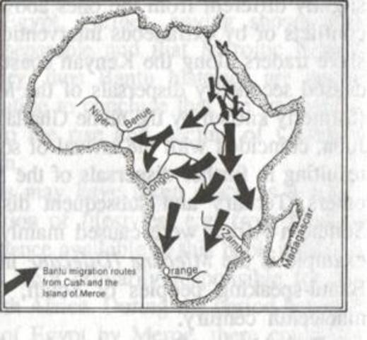 Emergence of the Bantu People