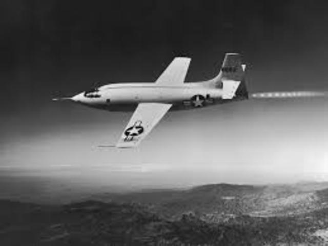 The First Plane to break the Sound Barrier