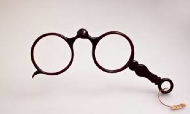 los anteojos-lentes