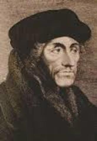Life and important works of Erasmus