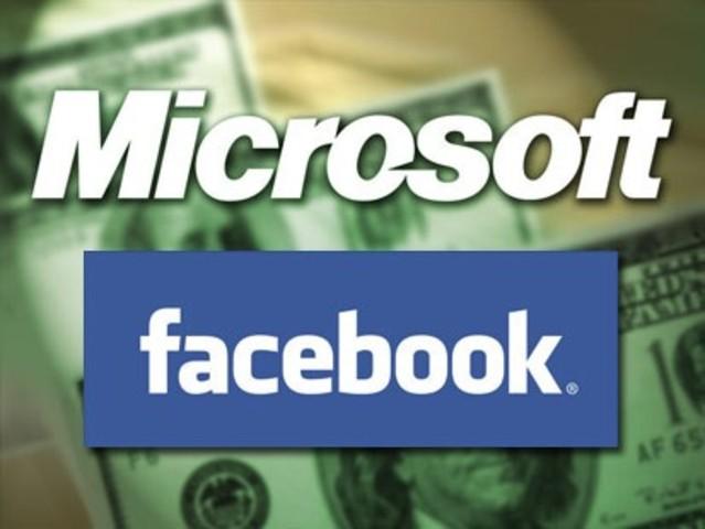 Microsoft  compra  facebook