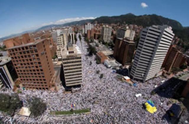 Influencia en colombia--->Marcha 4 de febrero