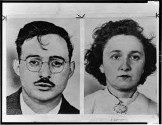 Rosenberg Espionage-Found Guilty
