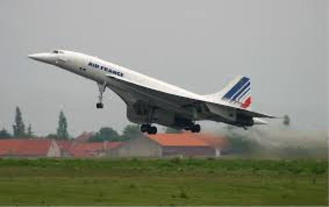 The Concorde's Commercial Flgihts