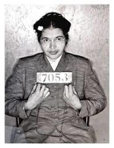 Rosa Parks Refuses to Give up Seat