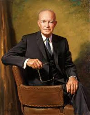President Dwight D. Eisenhower Second Term